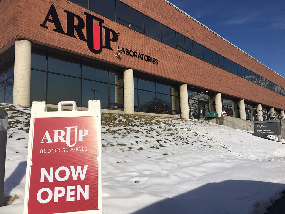 ARUP Blood Services Donor Center New Location